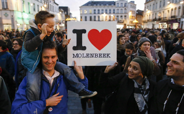 bruxelles-molenbeek-terrorismo-protesta-ansa