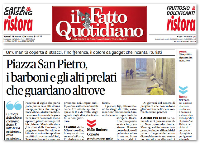 fatto-quotidiano-barboni-san-pietro