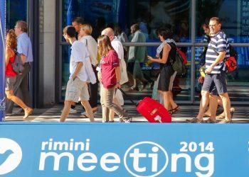 """Ultimo giorno del Meeting di """"Comunione e Liberazione"""" a Rimini, 30 agosto 2014. ANSA/PASQUALE BOVE"""