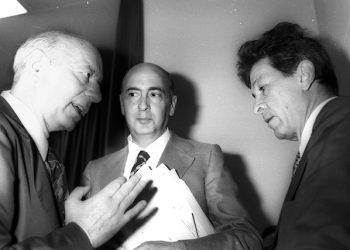 roma-02/7/76-paietta,napolitano e berlinguer