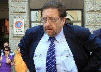 Il vice sindaco di milano Riccrado de Corato  questa mattina, 21 maggio 2011, partecipa alla festa della Polizia a Milano. MATTEO BAZZI / ANSA