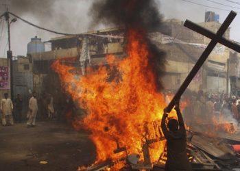 pakistan cristiani joseph colony