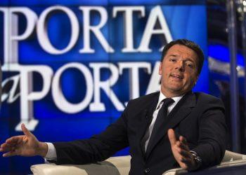 Matteo Renzi. ANSA/ MASSIMO PERCOSSI