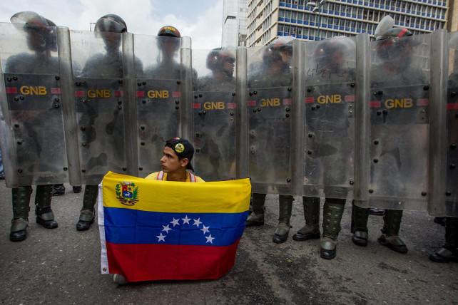 venezuela-protesta-maduro-caracas-ansa