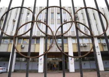 epa05303347 (FILE) A file picture dated 13 November 2015 of an exterior view of the Russian Olympic Committee headquarters and the Russian Athletics Federation office in Moscow, Russia. The International Olympic Committee (IOC) on 13 May 2016 called for immediate investigations on allegations of Russian state-sponsored doping at the Sochi 2014 Olympic Games. Grigory Rodchenkov, former head of Russia's anti-doping laboratory, admitted that banned performance-enhancing substances have been supplied and urine samples have been exchanged before and during the Sochi 2014 Olympics, the New York Times reported on 12 May 2016.  EPA/MAXIM SHIPENKOV