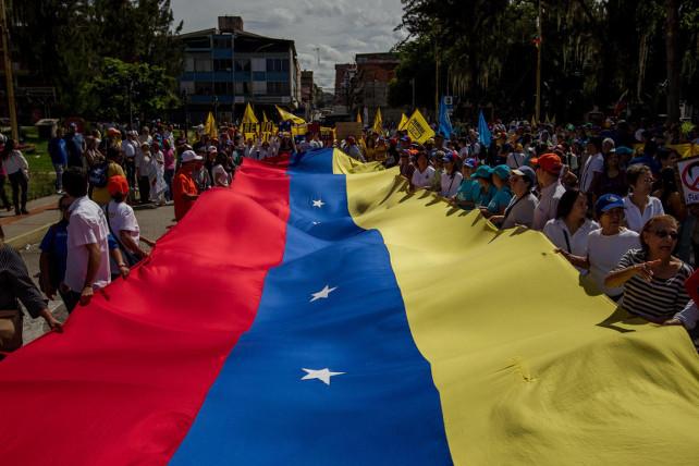 venezuela-protesta-contro-maduro-ansa