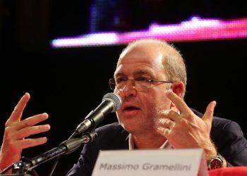L'intervento di Massimo Gramellini, Modena, 14 settembre 2013. ANSA/ CAMPANINI BARACCHI