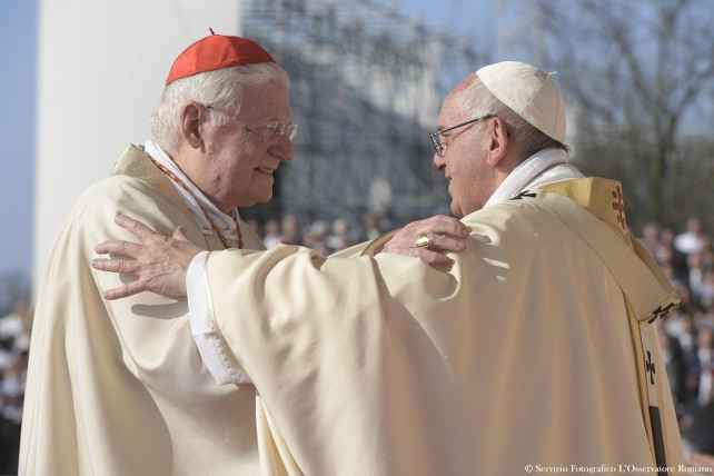 papa-francesco-cardinale-scola-ansa