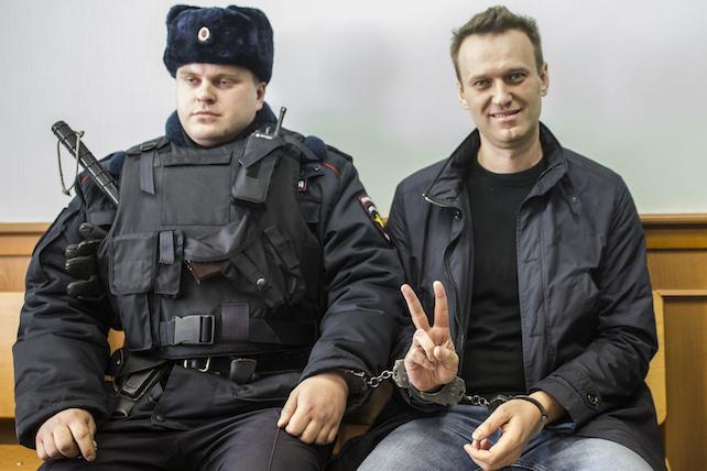L'arresto di rAlexei Navalny, oppositore del presidente Putin