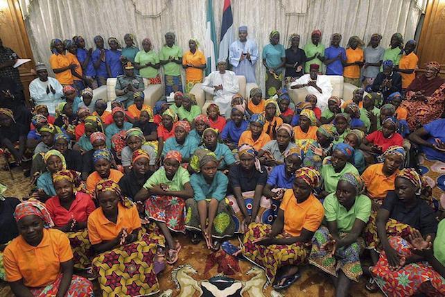 82 Chibok girls released