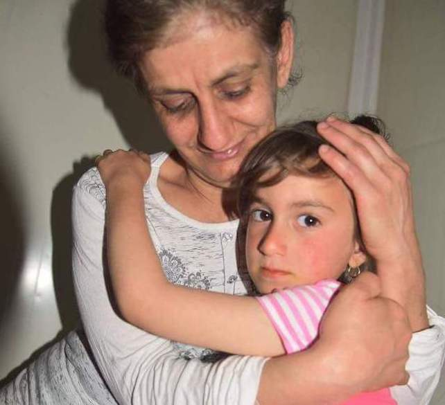 Liberation of Christina kidnapped from ISIS 3 years before