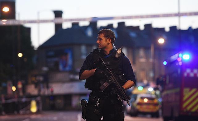 Van hits several pedestrians near Finsbury Park mosque in north London