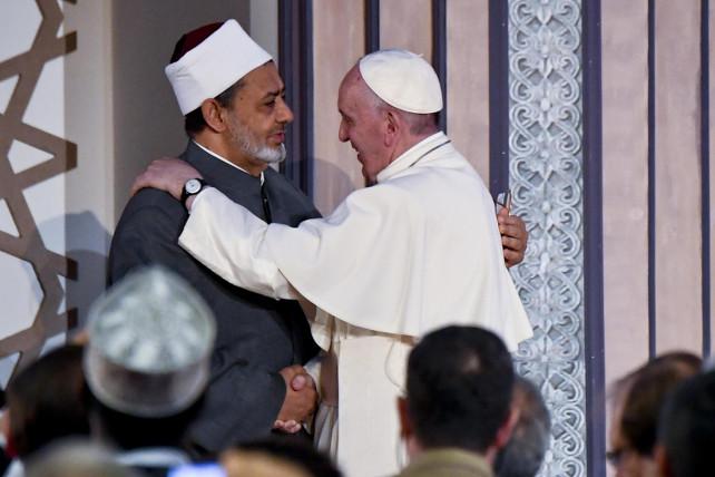 papa-francesco-egitto-imam-al-azhar-ansa