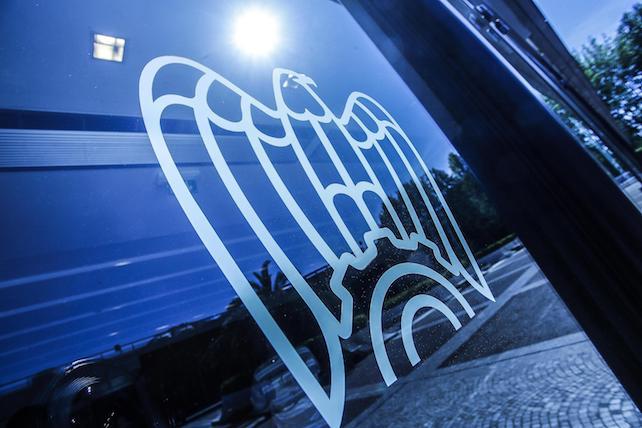 Logo sede di Confindustria, Roma 5 maggio 2017. ANSA/GIUSEPPE LAMI