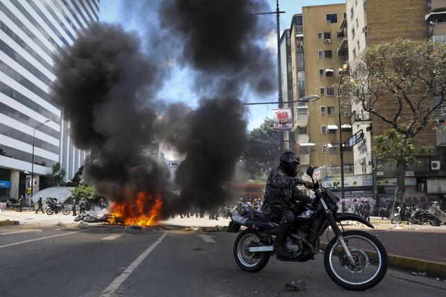 venezuela-protesta-caracas-ansa