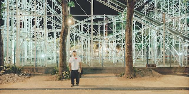 2) Jodice, Cartoline dagli altri spazi, Napoli, #03, 1996