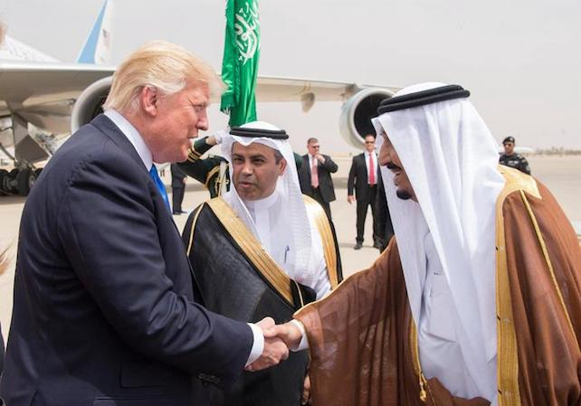 arabia saudita trump ansa