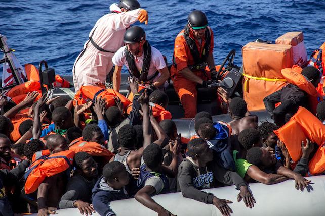 migranti-ansa