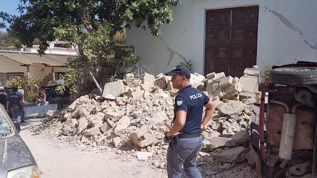Terremoto Ischia ansa