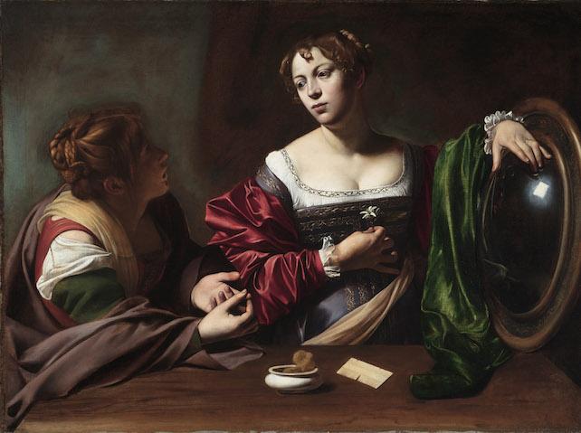 12. CARAVAGGIO Marta e Maria Maddalena