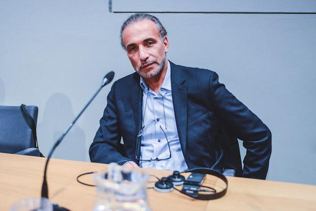 Tariq Ramadan, guests of the fifth edition of the ''Biennale Democrazia'' cultural event.
