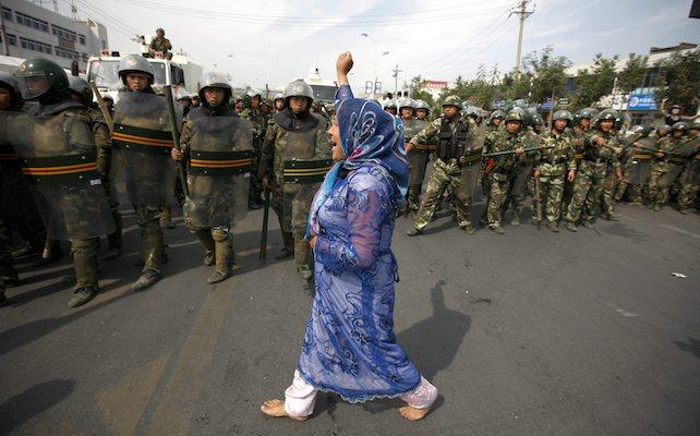 xinjiang uiguri partito
