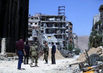 douma siria armi chimiche