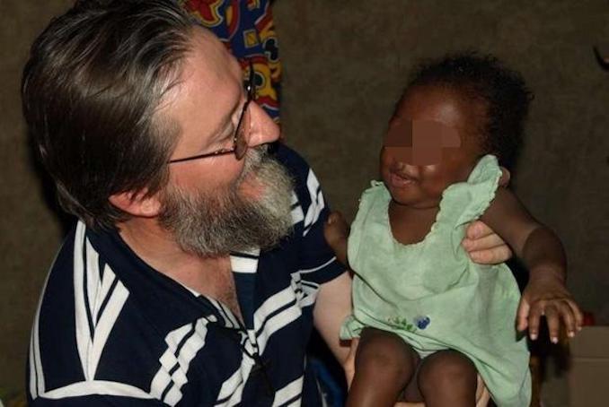 Padre Pierluigi Maccalli, della Societ‡ delle Missioni Africane (Sma) rapito nella notte fra il 17 e il 18 settembre 2018. da presunti jihadisti attivi nella zona di Niamey in Nigeria, in una foto tratta dal sito Fides.it.  +++ ATTENZIONE LA FOTO NON PUO ESSERE PUBBLICATA O RIPRODOTTA SENZA LAUTORIZZAZIONE DELLA FONTE DI ORIGINE CUI SI RINVIA+++
