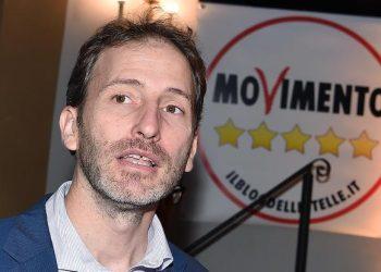 Davide Casaleggio durante l?incontro per la proclamazione del candidato presidente regione Piemonte del M5S presso teatro Alfa, Torino, 13 ottobre 2018 ANSA/ ALESSANDRO DI MARCO
