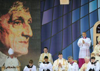 La beatificazione di John Henry Newman celebrata da papa Benedetto XVI