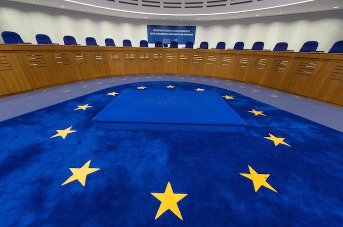 epa05709374 (FILE) - The assembly hall in the European Court of Human Rights in Strasbourg, France, 28 January 2016 (reissued 10 January 2017). The European Court of Human Rights (ECHR) in Strasbourg, France on 10 January 2017 ruled that parents of a Muslim girl living in Switzerland are obliged to send her to mixed swimming lessons, according to reports.  EPA/PATRICK SEEGER