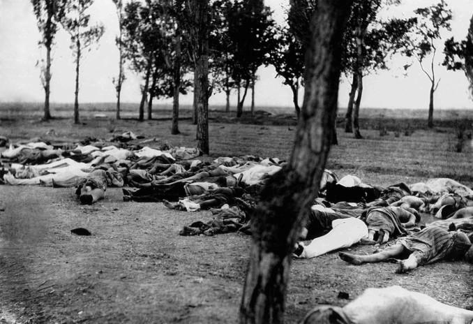 Vittime del genocidio armeno in Turchia