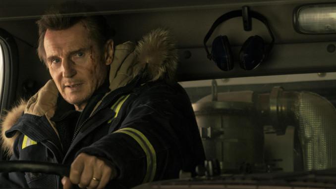 """Liam Neeson nel film """"Un uomo tranquillo"""" (Cold Pursuit)"""