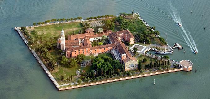 Veduta di San Lazzaro degli Armeni, Venezia