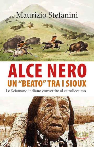 Copertina del libro di Maurizio Stefanini su Alce Nero