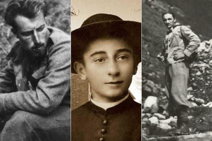 "Aldo Gastaldi ""Bisagno"", Rolando Rivi, Teresio Olivelli"
