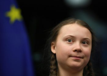 Greta Thunberg al Parlamento europeo