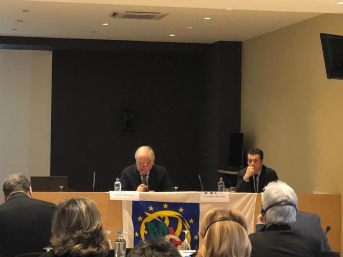 Carlo Costalli (Mcl) e Giovanni Maddalena