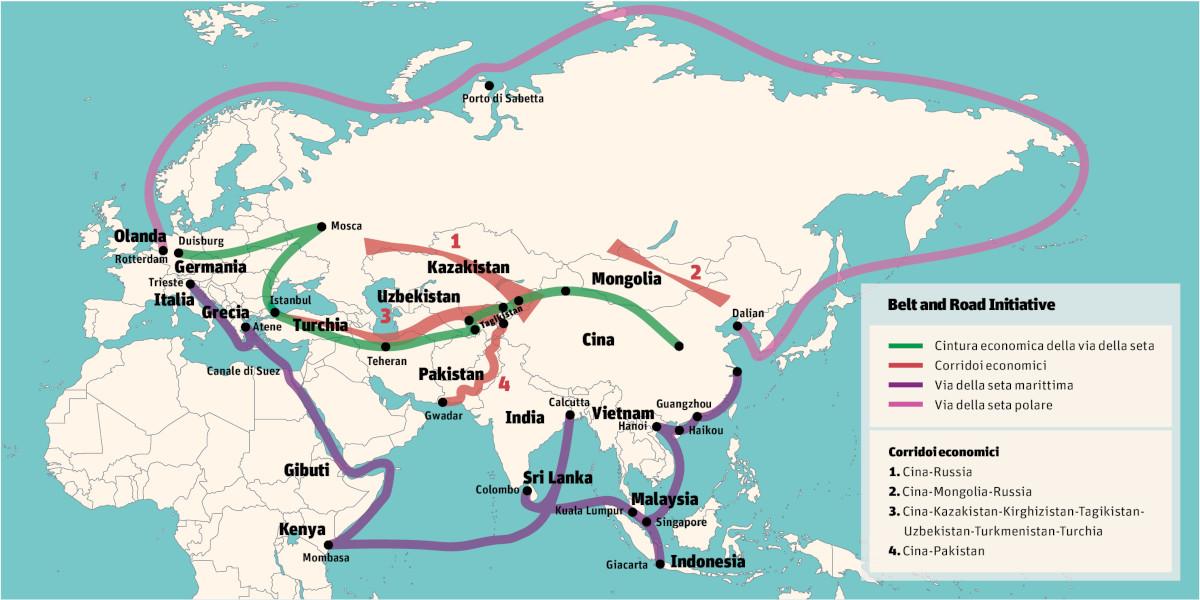 Belt and Road Initiative - La Nuova via della seta cinese