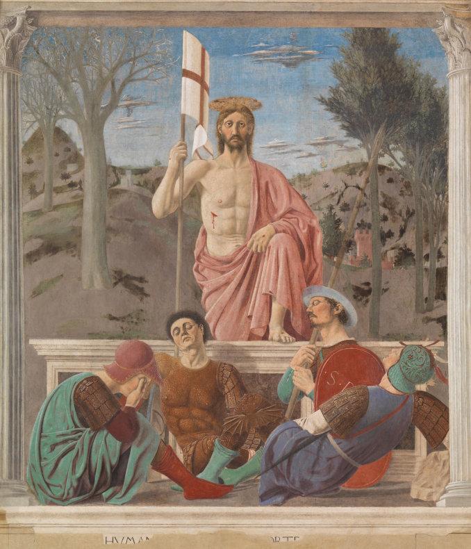 La Resurrezione di Cristo di Piero della Francesca (Sansepolcro)
