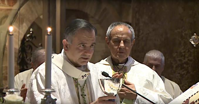 Messa per il ventesimo anniversario della morte di Enzo Piccinini