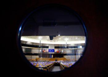 L'aula del Parlamento europeo a Strasburgo