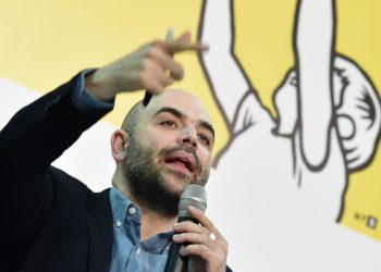Roberto Saviano al Salone del libro di Torino