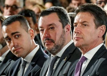 Luigi Di Maio, Matteo Salvini, Giuseppe Conte