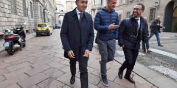 Grillini al governo: Luigi Di Maio, Rocco Casalino, Alfonso Bonafede