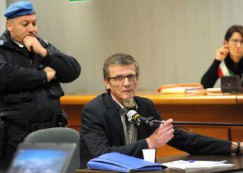 Stefano Binda al processo per l'omicidio di Lidia Macchi