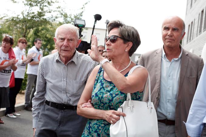 Viviane e Pierre, genitori di Vincent Lambert