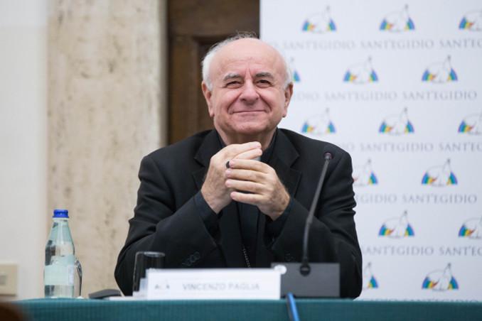 L'arcivescovo Vincenzo Paglia