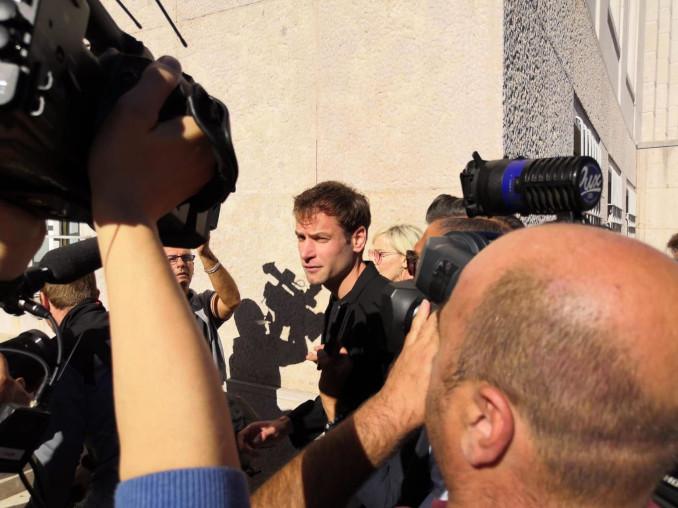 Alex Schwazer in tribunale a Bolzano