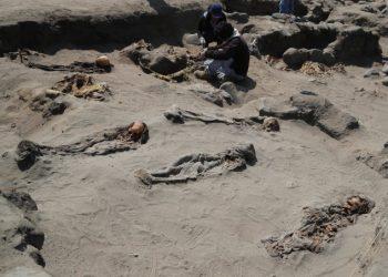 Resti di sacrifici umani di massa di epoca Chimù ritrovati in Perù